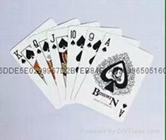 黑芯紙撲克牌