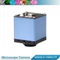 New design VGA video camera micrscope