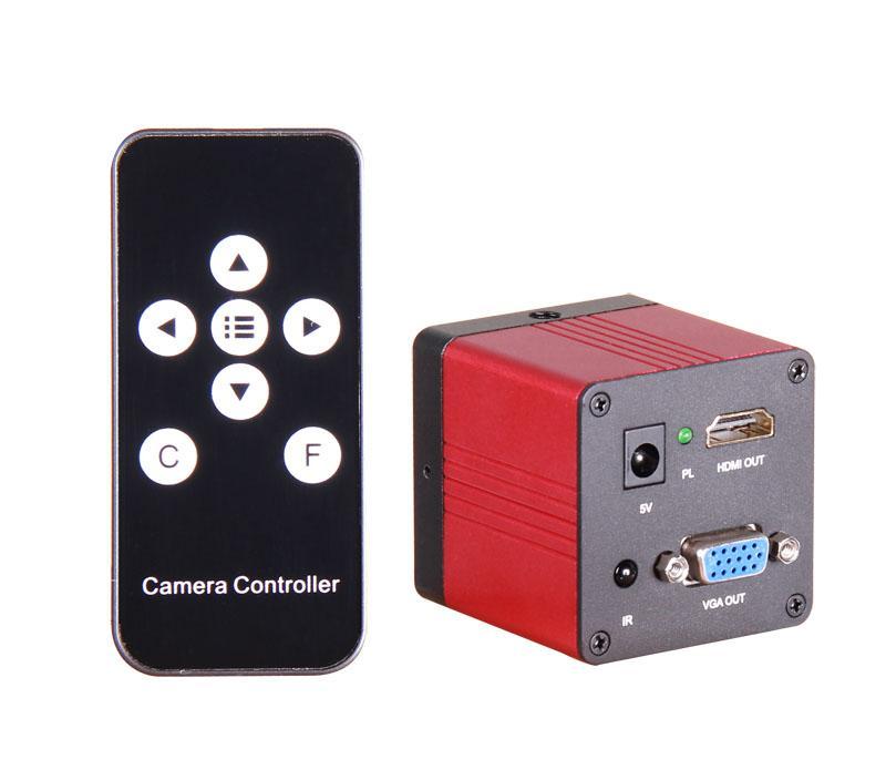1080P HDMI  and VGA dual output Microscope Camera 1