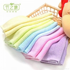 竹之锦 竹纤维毛巾吸水不沾油洗碗巾