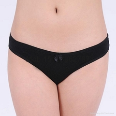 Solid thong plain Underp