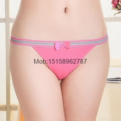 stretched cotton bikini