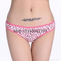 Leopard cotton bikini women underwear lady panties bikini underwear lingerie