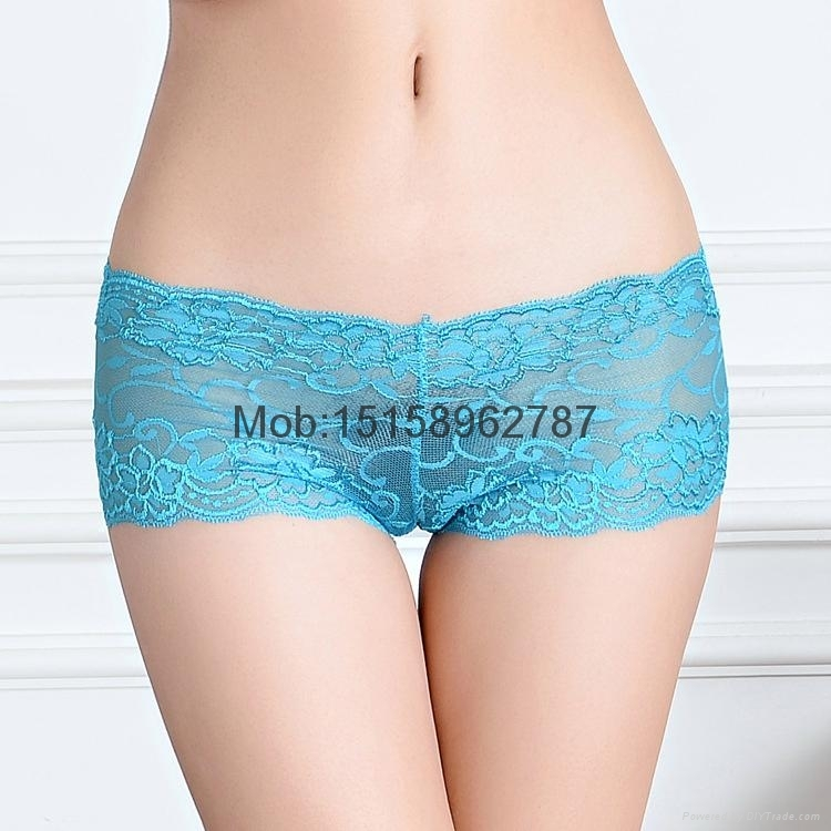 sexy lace boxer short sheer lace hipster knickers boyleg lady panties underwear