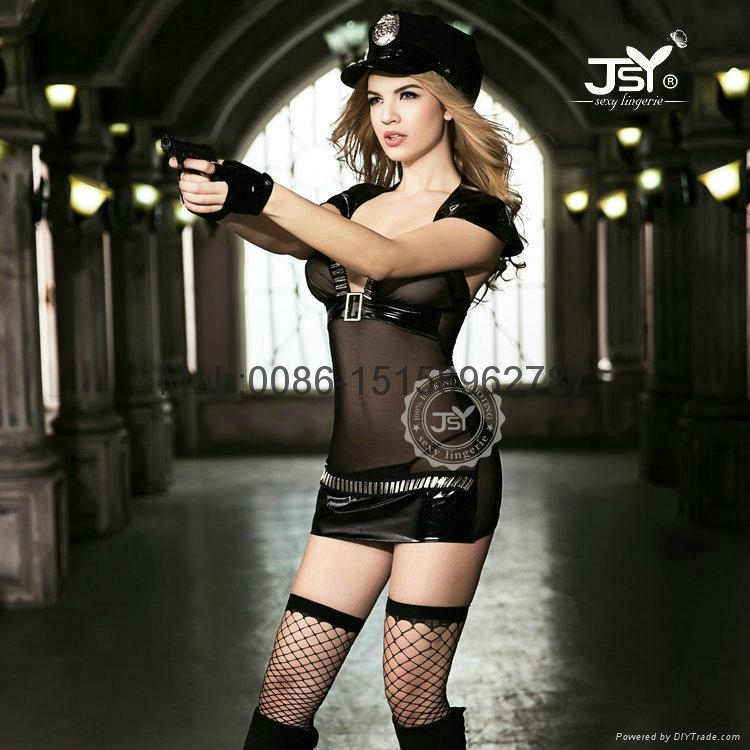 sexy police costume hottie police women dresses cosplay uniform Sexy Lingerie