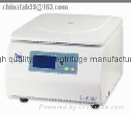 L-530A Benchtop Medical Lab Centrifuge Laboratory Centrifuge Frequency Motor LCD 1