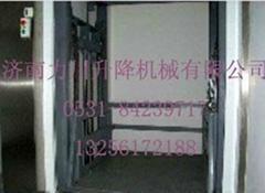 长期大量供应郑州导轨式液压升降机