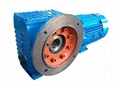 SAF series B5 Flange mounted with Hollow