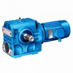 S series Helical Worm Geared Motor /Speed Reducer/Transmission Worm Gearbox