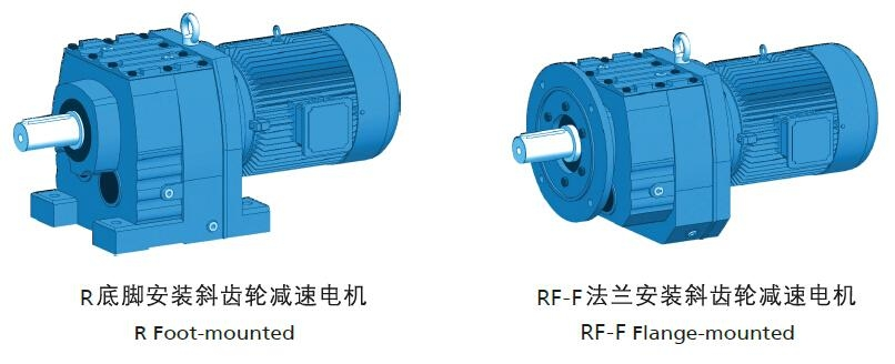 R series Coaxial Inline Helical Geared Motor /Speed Reducer/ Gearbox reducer 2