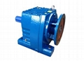 R Series helical gearbox with IEC