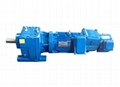 R series Inline Helical Gearbox with