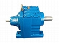 R-AD helical gearbox with Input Shaft