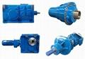 R-RF Combinational Helical Gear motor