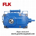 B Helical Bevel High Power Gearbox