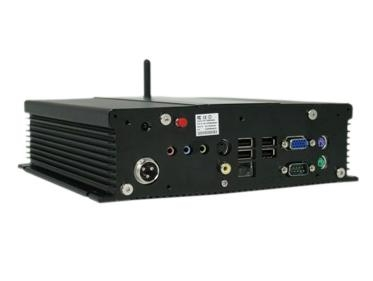 Fanless Car PC with Copper Heat Pipe 2