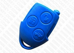 blue 3 button remote case