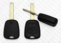 2 button remote key shell- HU83 1