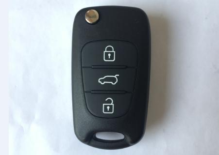 3 button flip remote key shell 1