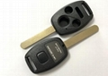 3+1 button remote key shell