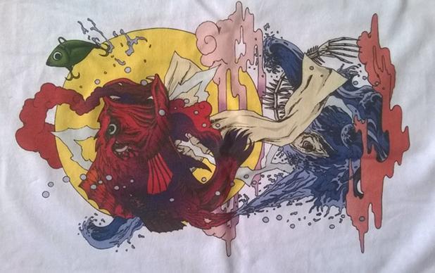 610*1800mm A1 T-shirt printer on cloth fabric cottom materials 4