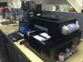A4 digital coloring printer on food milk