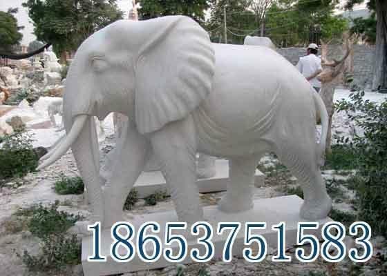 山東石雕大象 1