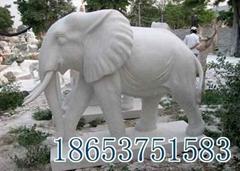 山东石雕大象