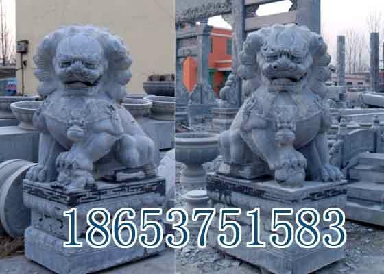山东石雕狮子,石狮子 1