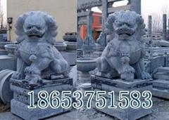 山東石雕獅子,石獅子