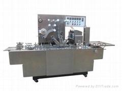 茶叶盒透明膜包装机