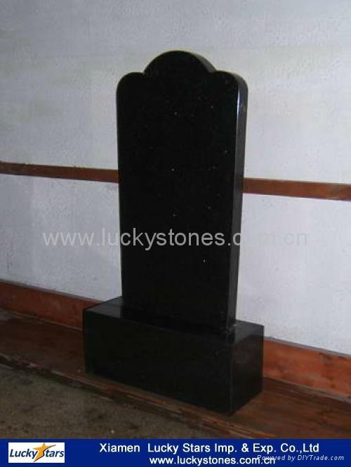 Russia Style Granite Tombstone 4