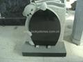 Granite Child Teddy Bear Tombstone