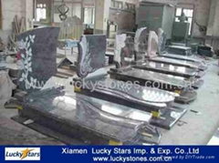 Hot Sale Cheap Granite European Tombstone