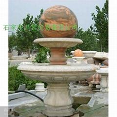 曲陽石雕風水球