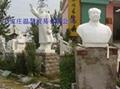 名人石雕像