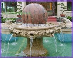 喷泉  石喷泉 曲阳石雕 汉白玉雕刻