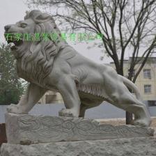 曲阳石雕大理石狮子