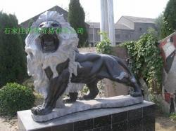 曲阳石雕门口石狮子 2