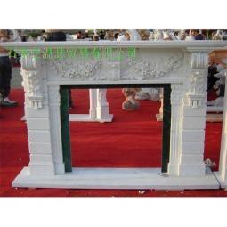 曲阳石雕欧式壁炉 5