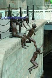 曲阳雕刻园林铜雕 4