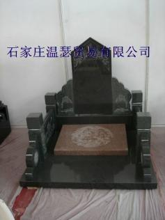 曲阳石雕大理石欧式墓 2