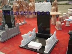 曲阳石雕大理石欧式墓 4