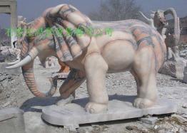 曲阳石雕大象 1