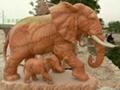 曲阳石雕大象 2