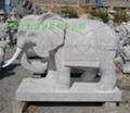 曲阳石雕大象 3