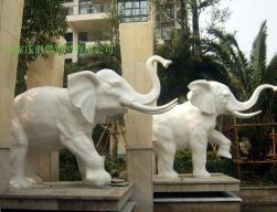 曲阳石雕大象 4