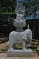 曲阳石雕大象 5
