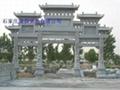 曲阳石雕牌坊  4