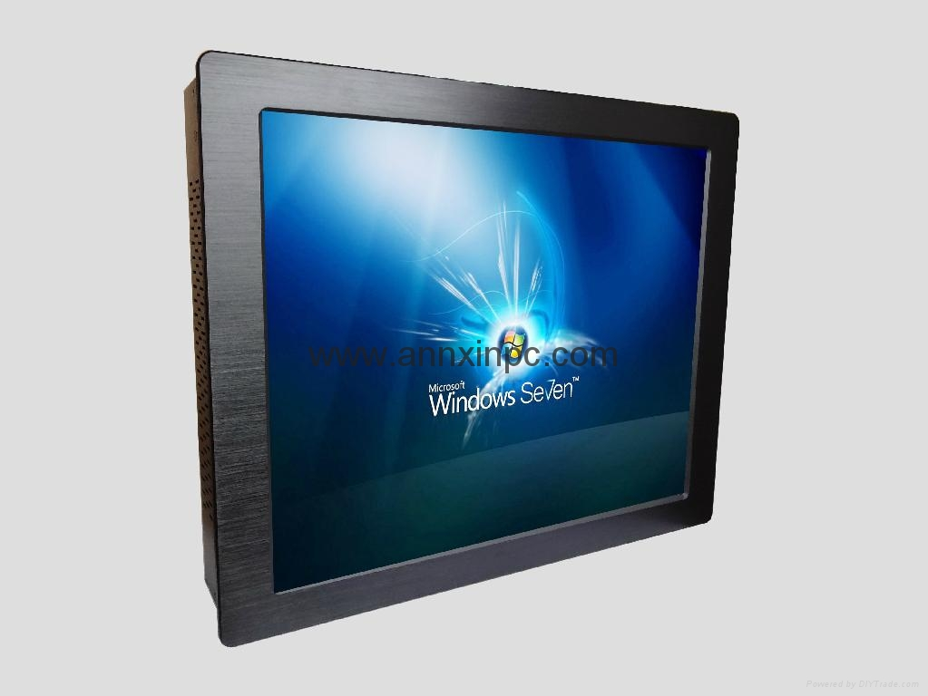 Industrial Panel PC with 17 LCD touch screen 13 i5 i7 cpu 3